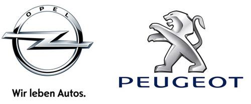 Opel y Peugeot