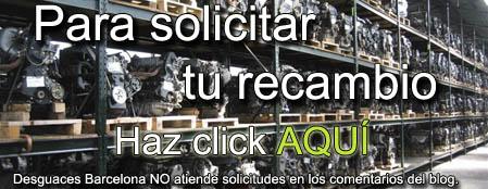 recambios de desguace en barcelona