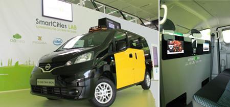 Smart Taxi en su presentación
